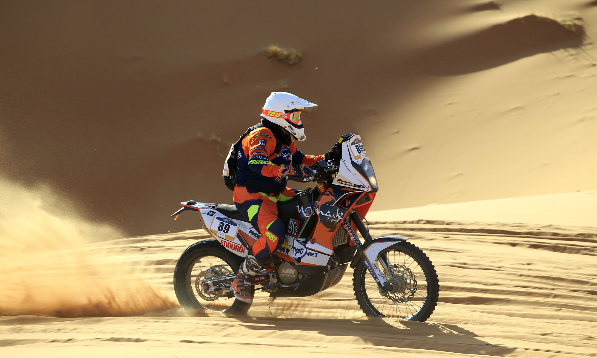 Bruno Scheurer Dakar 2018